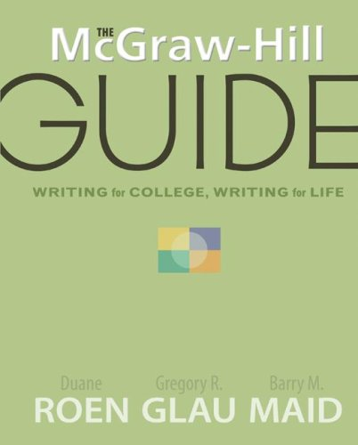 Writing for College, Writing for Life   2009 edition cover