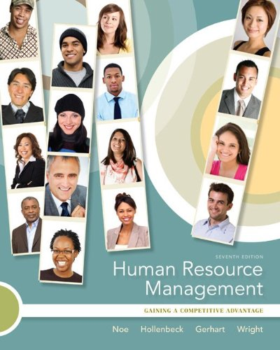 Human Resource Management 7th 2010 edition cover