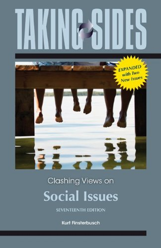 Clashing Views on Social Issues:  17th 2013 9780078139475 Front Cover