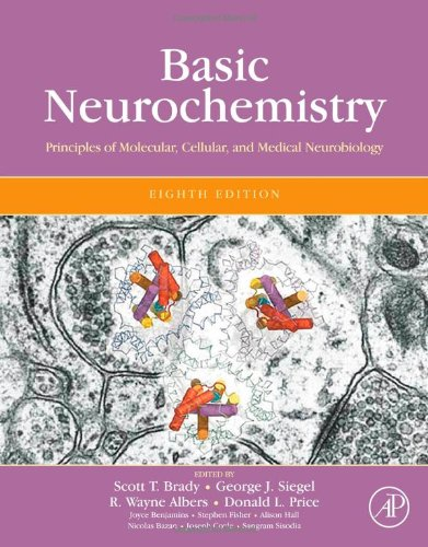 Basic Neurochemistry Principles of Molecular, Cellular, and Medical Neurobiology 8th 2012 edition cover