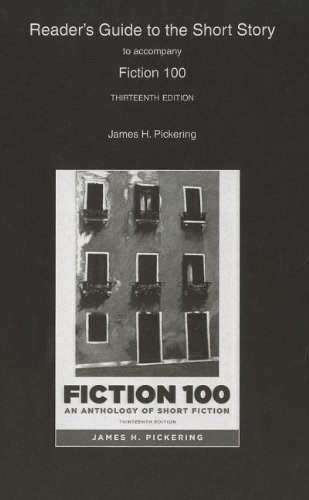 Reader's Guide to the Short Story for Fiction 100 A Anthology of Short Fiction 13th 2012 (Revised) edition cover
