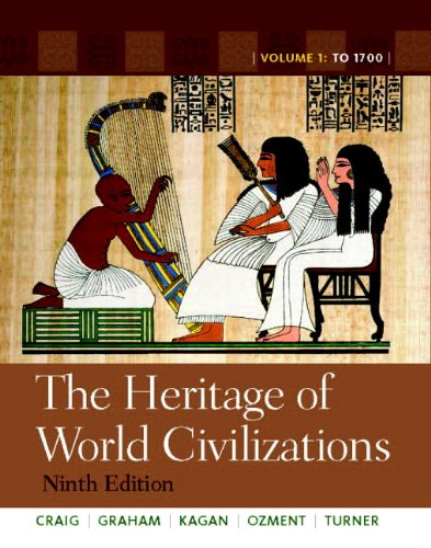 Heritage of World Civilizations  9th 2012 edition cover