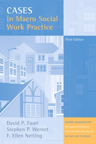 Cases in Macro Social Work Practice  3rd 2008 edition cover