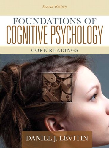 Foundations of Cognitive Psychology Core Readings 2nd 2011 edition cover