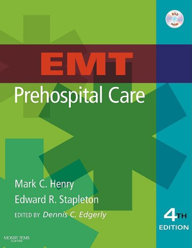 EMT Prehospital Care  4th 2010 edition cover