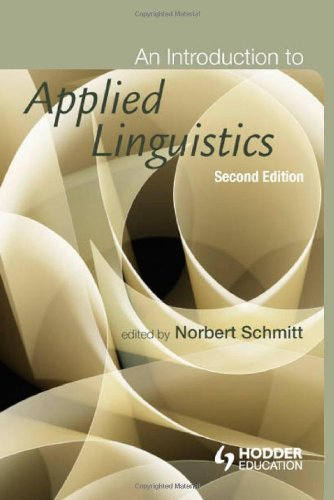 Introduction to Applied Linguistics  2nd 2010 (Revised) edition cover