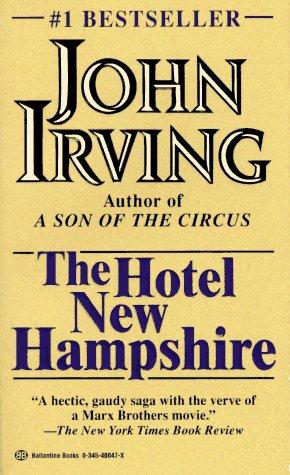 Hotel New Hampshire   1981 edition cover