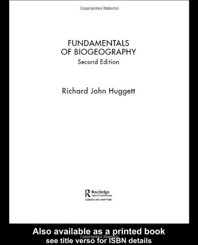 Fundamentals of Biogeography  2nd 2004 (Revised) edition cover