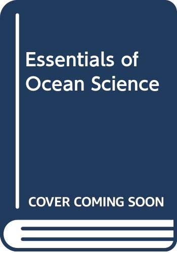 Essentials of Ocean Science   1987 9780471635475 Front Cover