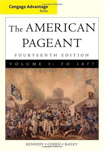 American Pageant - To 1877  14th 2011 edition cover