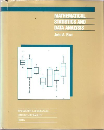 Mathematical Statistics and Data Analysis 1st edition cover