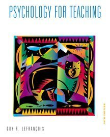 Psychology for Teaching  10th 2000 edition cover