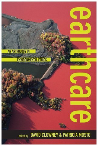 Earthcare An Anthology in Environmental Ethics  2009 edition cover