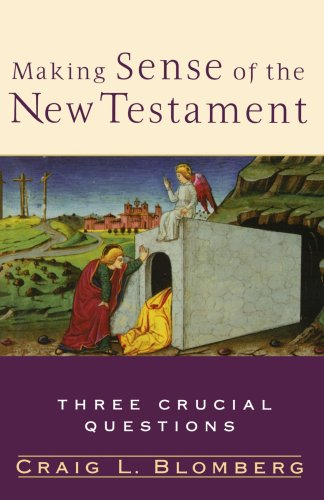 Making Sense of the New Testament Three Crucial Questions  2004 edition cover