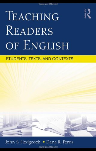 Teaching Readers of English Students, Texts, and Contexts  2009 edition cover