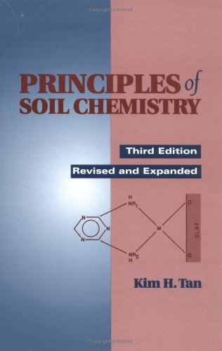 Principles of Soil Chemistry  3rd 1998 (Revised) edition cover