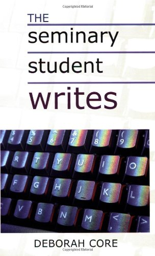 Seminary Student Writes   2000 edition cover