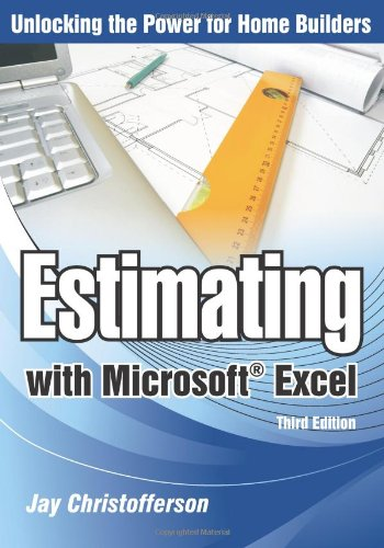 Estimating with Microsoft Excel  3rd 2010 edition cover