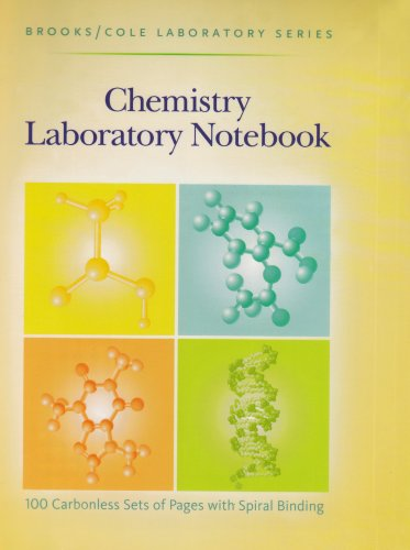 General Chemistry Laboratory Notebook   2000 9780875402475 Front Cover