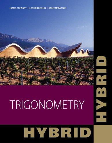 Trigonometry  2nd 2013 edition cover