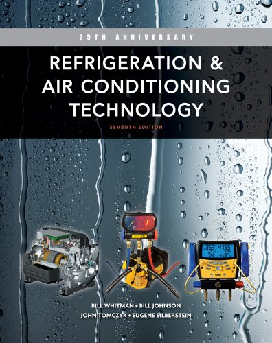 Refrigeration and Air Conditioning Technology  7th 2013 edition cover