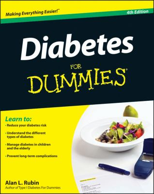 Diabetes for Dummies  4th 2012 edition cover