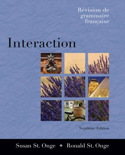 Interaction R�vision de Grammaire Fran�aise 7th 2007 (Revised) edition cover