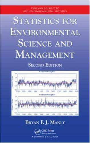 Statistics for Enviromental Science and Management  2nd 2008 (Revised) edition cover
