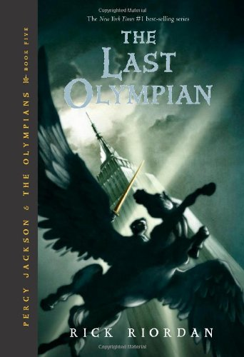Last Olympian  5th edition cover