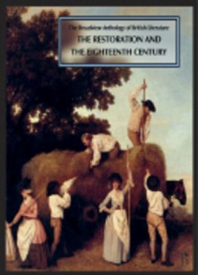 Broadview Anthology of British Literature The Restoration and the Eighteenth Century 2nd 2011 edition cover