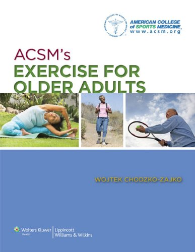 ACSM's Exercise for Older Adults   2014 edition cover
