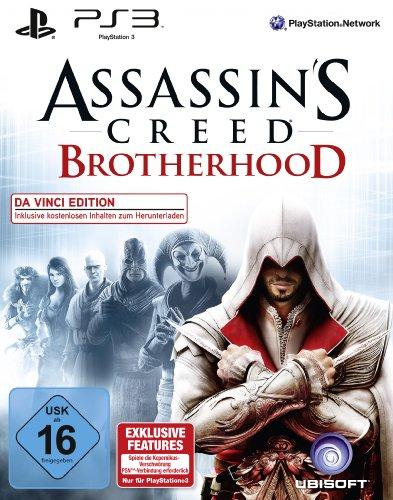 Assassin's Creed: Brotherhood - Da Vinci Edition PlayStation 3 artwork