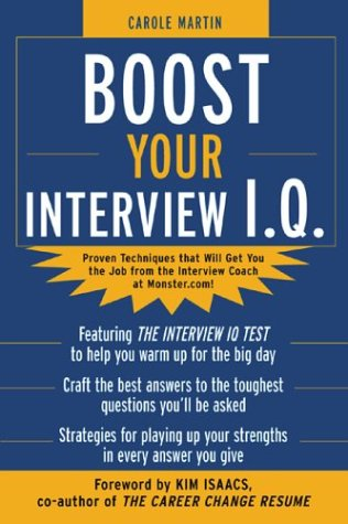 Boost Your Interview IQ   2004 9780071425476 Front Cover