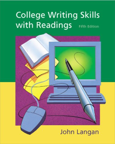 College Writing Skills with Readings  5th 2001 edition cover