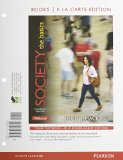 Society The Basics, Books a la Carte Edition and REVEL -- Access Card -- for Society: the Basics Package 13th 2015 edition cover