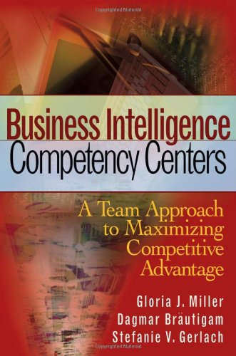 Business Intelligence Competency Centers A Team Approach to Maximizing Competitive Advantage  2006 edition cover