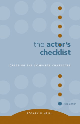 Actor's Checklist  3rd 2007 (Revised) edition cover