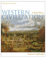 Western Civilization  7th 2011 (Brief Edition) 9780495571476 Front Cover