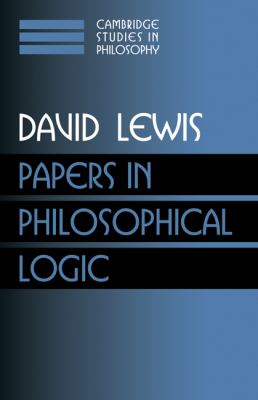 Papers in Philosophical Logic   1998 9780521582476 Front Cover