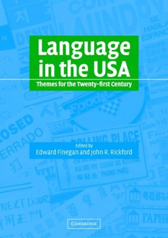 Language in the U. S. A. Themes for the Twenty-First Century  2004 edition cover