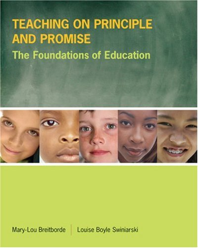 Teaching on Principle and Promise The Foundations of Education  2006 edition cover