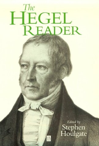 Hegel Reader   1998 edition cover