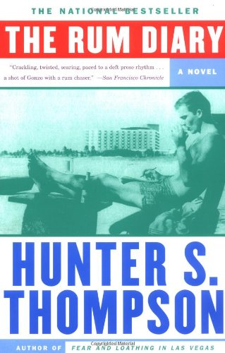 Rum Diary A Novel  1998 edition cover