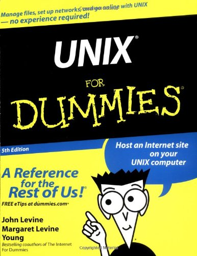 UNIX� for Dummies�  5th 2004 (Revised) edition cover