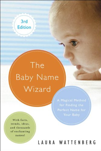 Baby Name Wizard A Magical Method for Finding the Perfect Name for Your Baby N/A 9780770436476 Front Cover