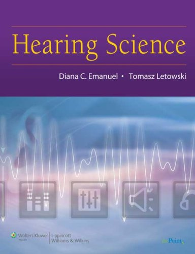 Hearing Science   2009 edition cover