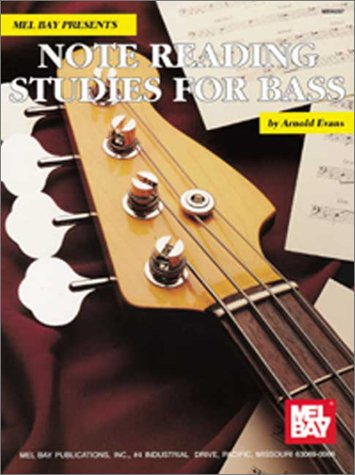 Note Reading Studies for Bass   1994 edition cover