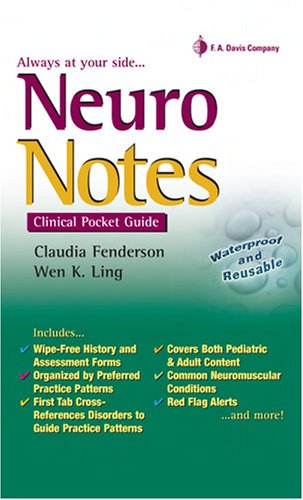 Neuro Notes Clinical Pocket Guide N/A edition cover