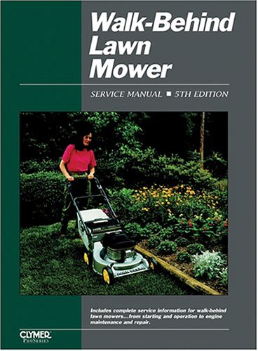 Walk-Behind Lawn Mower Ed 5  4th 1997 9780872886476 Front Cover