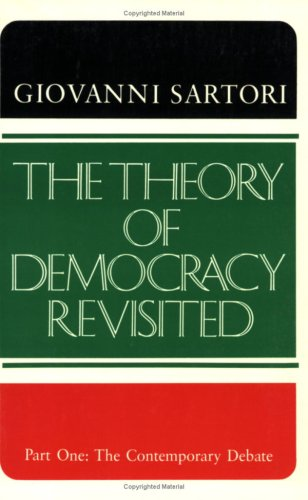 Theory of Democracy Revisited The Contemporary Debate  1987 (Revised) edition cover